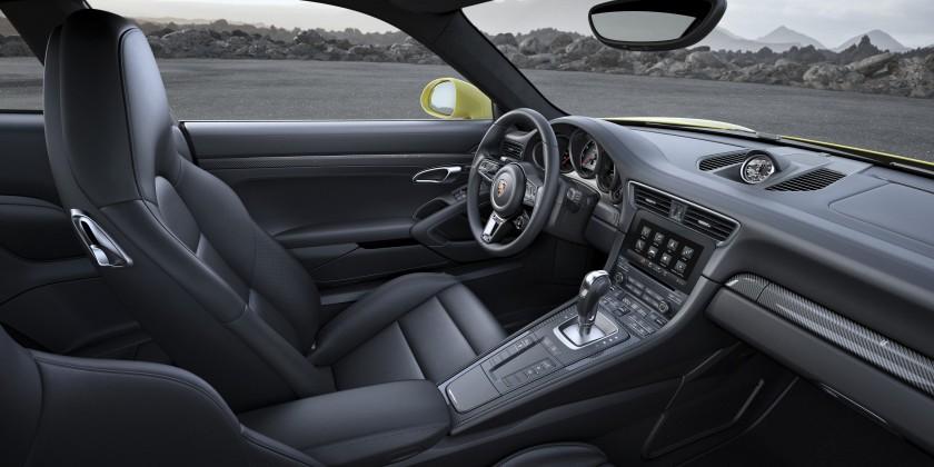 Innenraum Porsche 911 Turbo