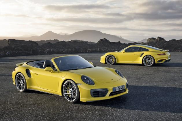 Der 911 Turbo S und 911 Turbo S Cabriolet.