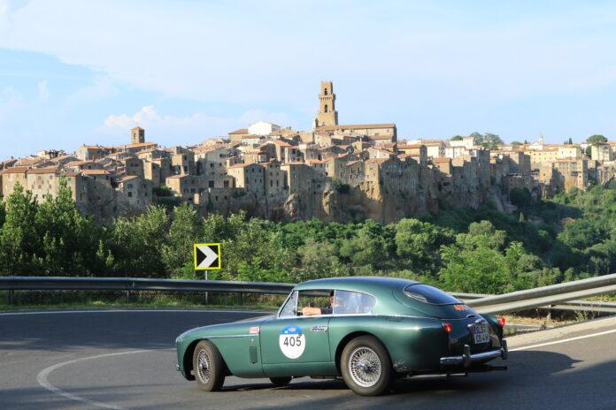 Aston Martin an der Mille Miglia